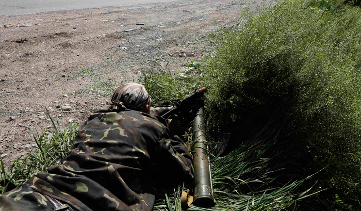 Группа диверсантов напала на колону сил АТО, – Тымчук