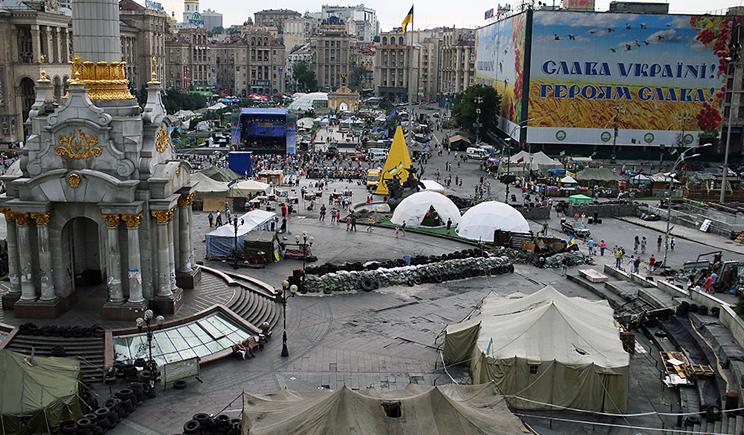 На Майдане прозвучал взрыв, есть пострадавшие
