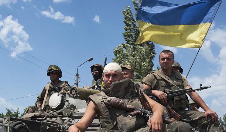 Украинская армия вошла в Луганск