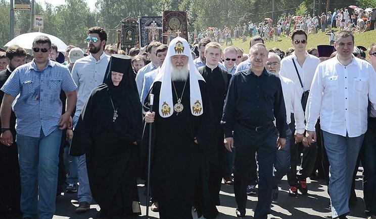 Боевики ДНР пригласили патриарха Кирилла на празднования крещения Киевской Руси
