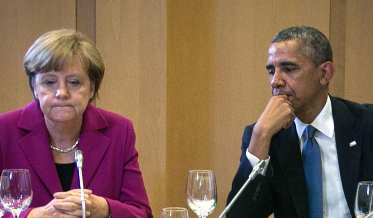 Лидеры США и Германии обговорили возможность введения новых санкций против РФ