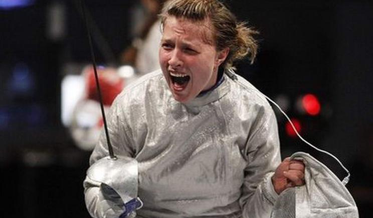 Украинка стала лучшей среди мировых фехтовальщиц
