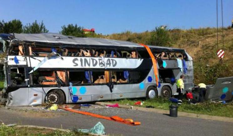 Украинский автобус возле Дрездена попал в ДТП, 9 человек погибло