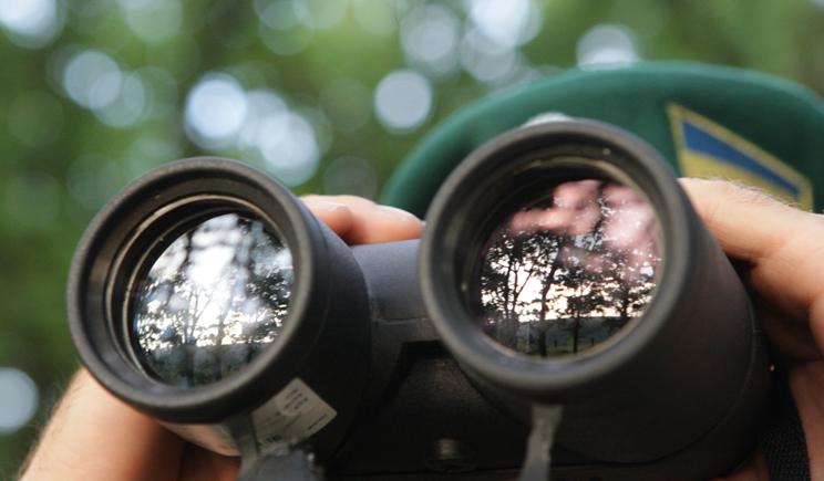 Украинские пограничники огнем остановили российских диверсантов