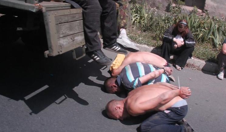 Силы АТО под Лисичанском взяли в плен 23 боевика, все граждане РФ среди которых часть кадыровцы