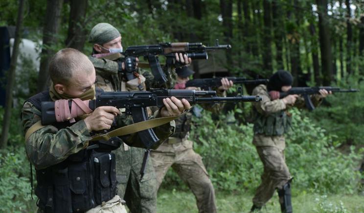"Украинские силовики ликвидировали батальон ""Восток"""