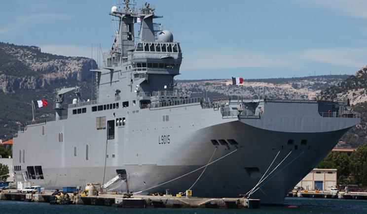 ЕС наложил Эмбарго на поставку французских «Мистралей» России