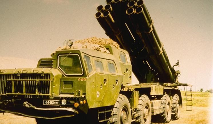 ВСУ начало использовать установки залпового огня «300мм РС30 Смерч»