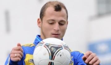 Игрок ФК «Днепр» поддержал военнослужащих в зоне АТО