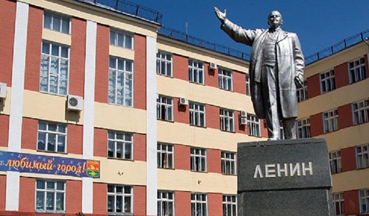 В российском городе Клинцы ночью снесли памятник ленину ФОТО