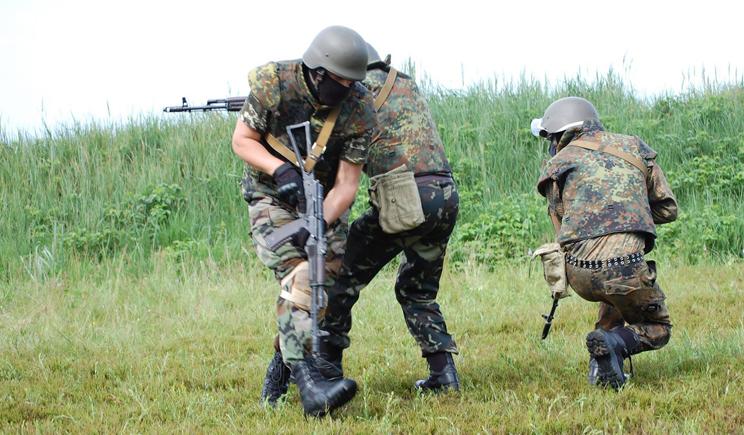 Батальон «Донбасс» разбил наемников Кадырова