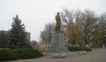 В н.п. Мангуш Донецкой области исчез Ленин