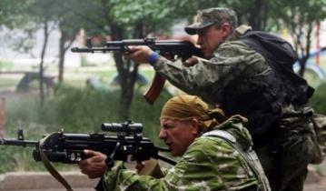 Боевиков на востоке Украины оставили бес патронов