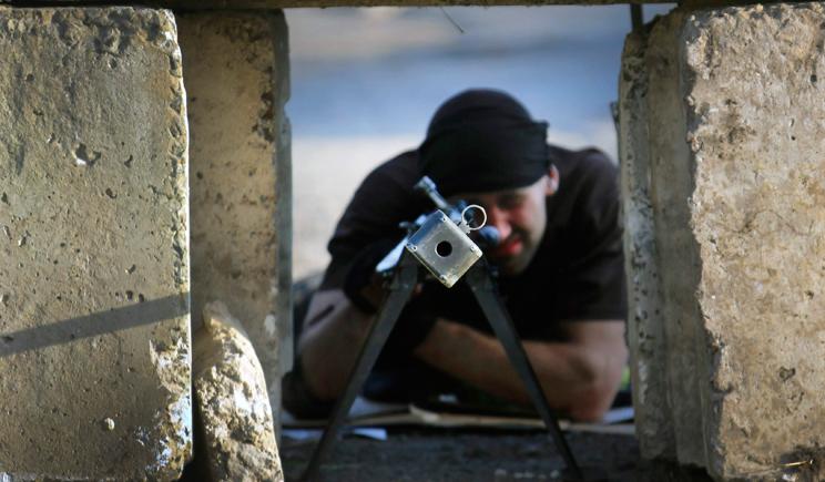 Террористы напали на город Счастье в Луганской области, среди силовиков есть потери