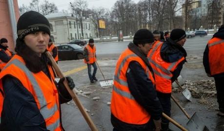 Гастрабайтеры Москвы собираются выйти на митинг, против рабских условий труда
