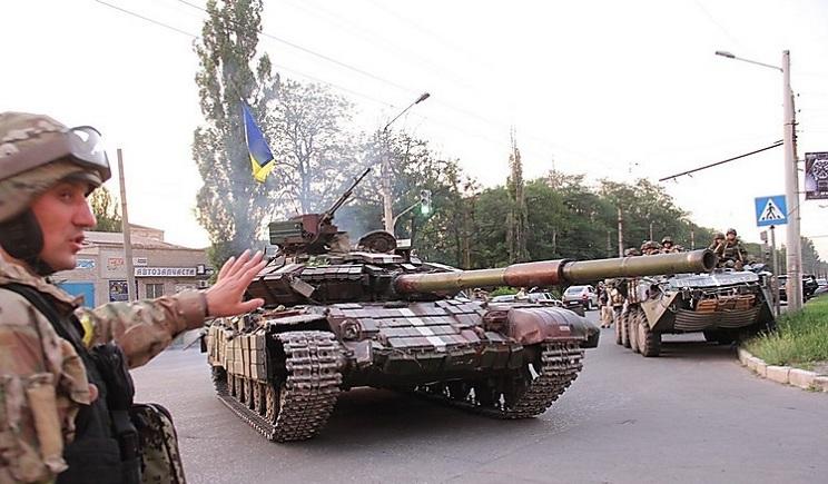 Северодонецк освободили от террористов