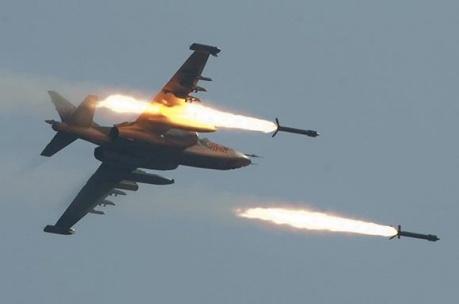 Украинская авиация уничтожила боевые позиции террористов в близи Макеевки