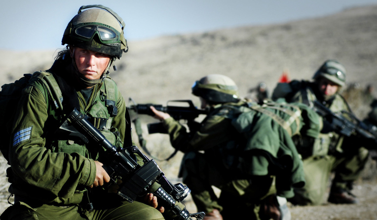 Израильские солдаты отрываются под украинские народные песни (ВИДЕО)