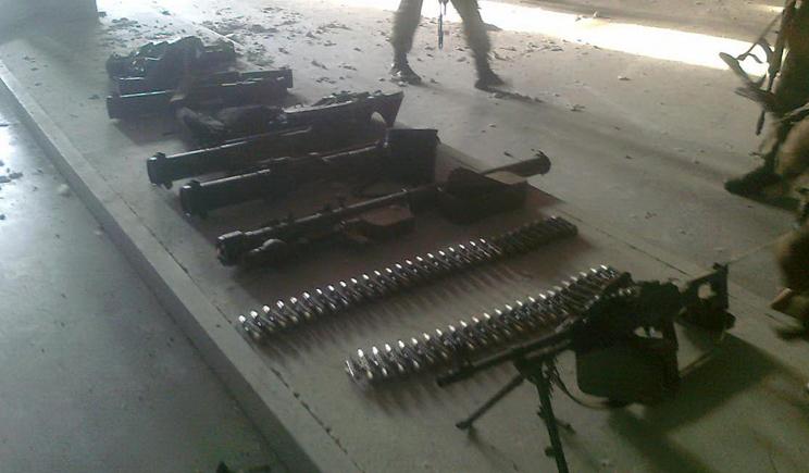 Этой ночью с территории РФ боевики получили оружие