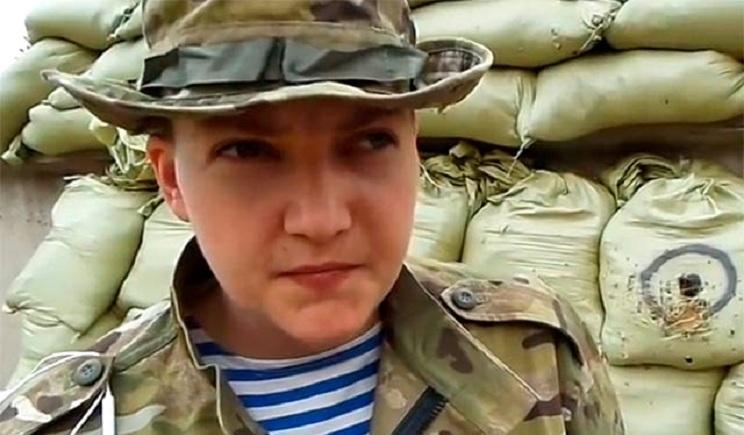 Надежда Савченко просит открыть уголовное дело по факту ее похищения