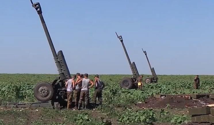 """Артиллерия ВСУ уничтожила две установки """"Град"""""""