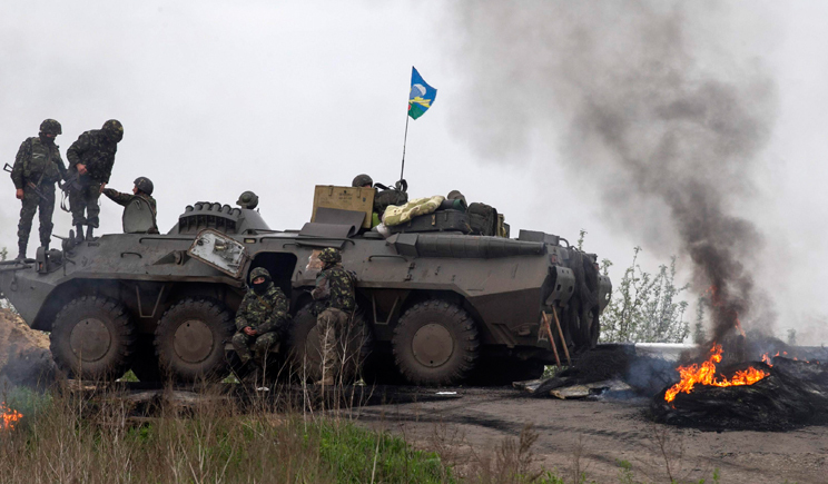 За прошлую ночь в зоне АТО погибло трое украинских военнослужащих