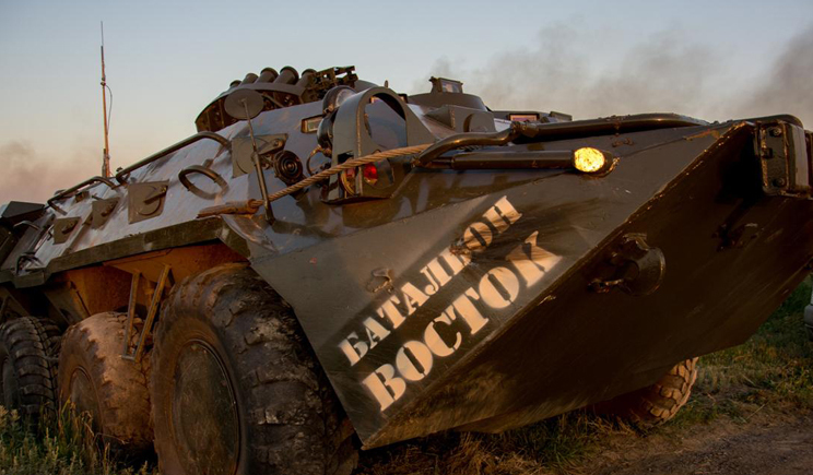 Со стороны РФ снова зашла тяжелая техника для боевиков