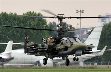За 18 км от украинской границы расположены 29 вертолетов и два военных самолета РФ – СНБО