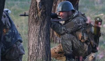 Украинские десантники возле границы отбили наступление террористов