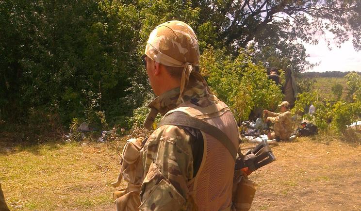 Украинские войска вошли в Луганск