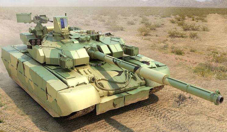 В зону АТО прибыли танки «Оплот»