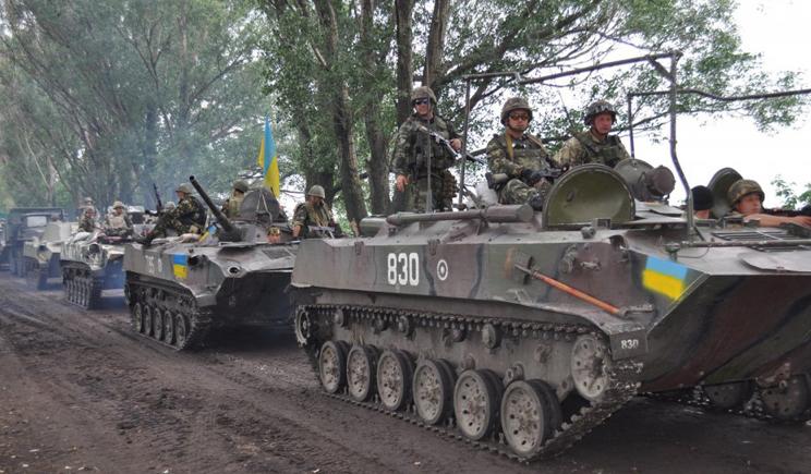 Украинские войска начали наступление под Северодонецком