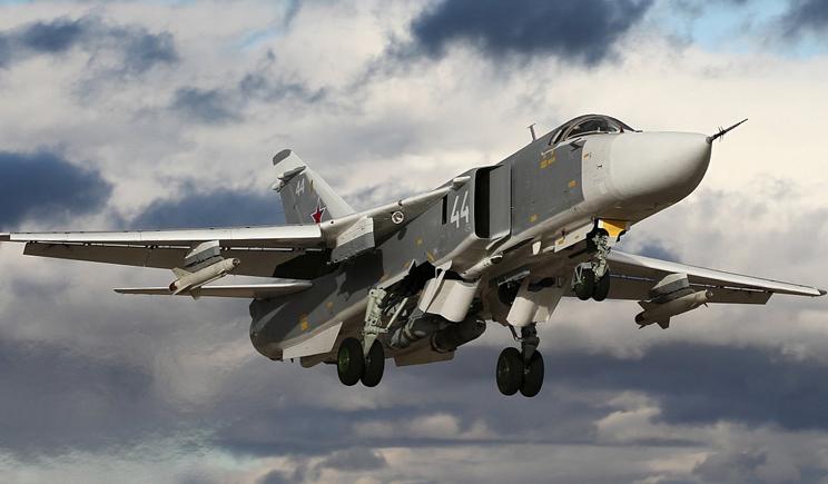 Су-24 подбитый террористами из ПЗРК, уничтожил зенитную установку противника и вернулся на аэродром, – спикер АТЦ
