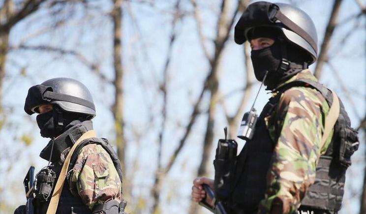 Украинские спецы зачищают Луганск от остатков террористических групп