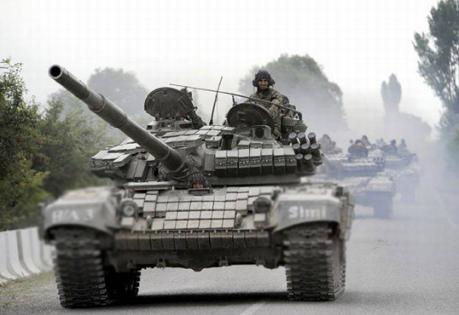 Россия подтянула к границе с Украиной 50 танков