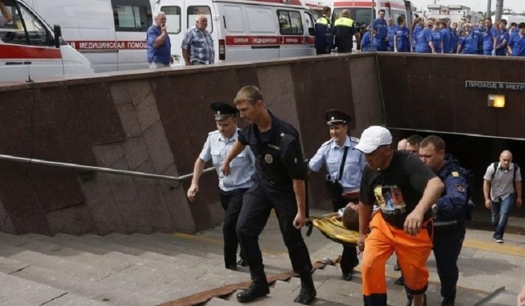 В аварии в московском метро есть пострадавшая гражданка Украины