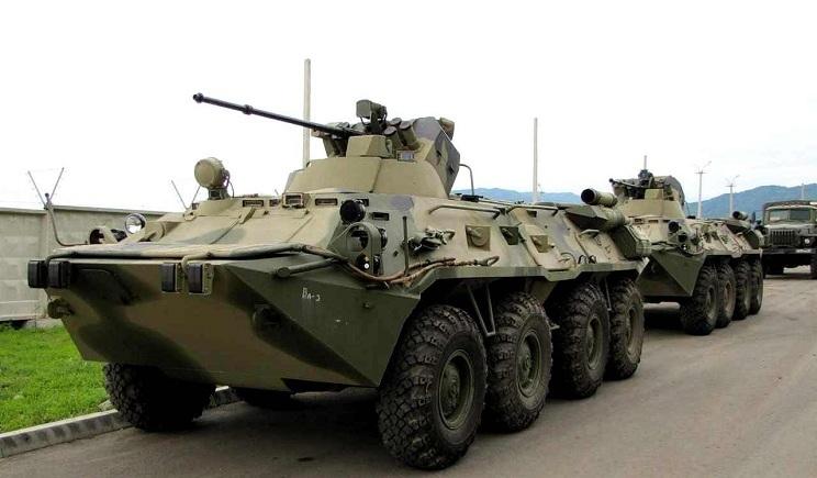 Россия продолжает стягивать военную технику к границе с Украиной – Госпогранслужба