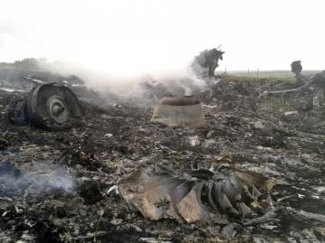 Террористы потеряли контроль над деревней возле которой ранее сбили Боинг