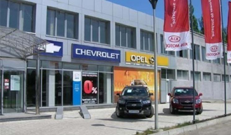 Донецкие террористы опустошили автосалоны города
