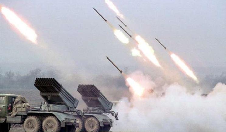 Террористы обстреливают луганский аэропорт из «Градов» используя фосфорные заряды