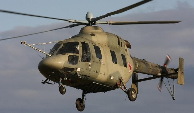 6 российских вертолетов пересекли украинскую границу