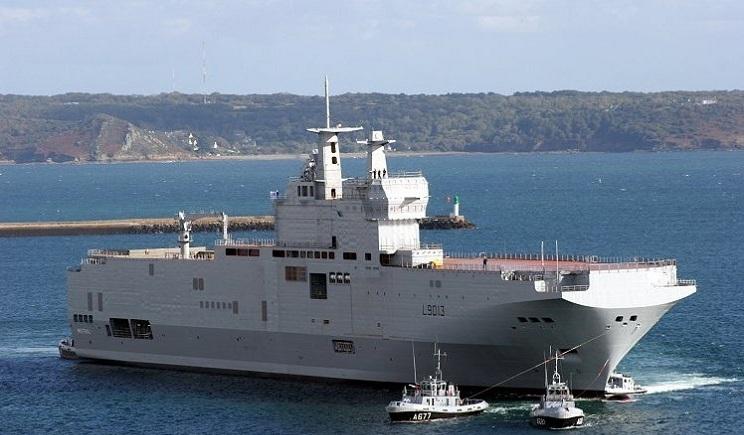 Германия призвала Францию прекратить поставку «Мистралей» РФ