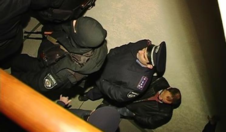 Донецкое Управление МВД отразило атаку террористов