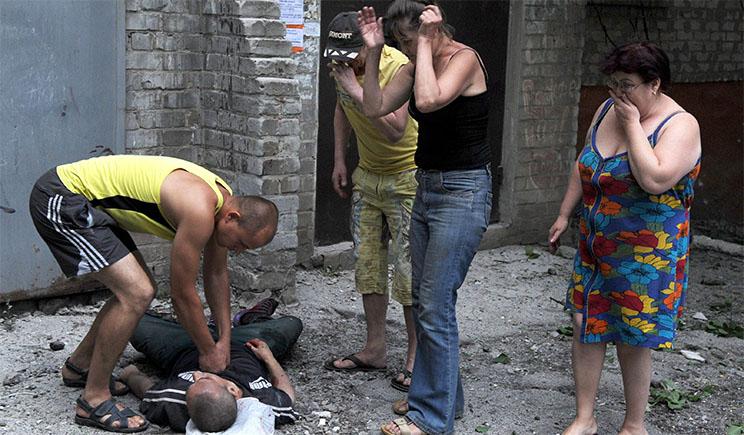 Сводка сепаратистского подполья в Славянске