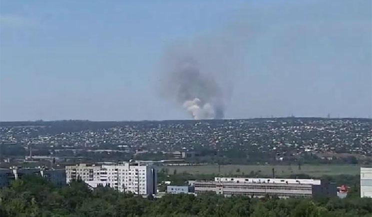 Террористы стянули крупные силы для штурма Луганского аэропорта
