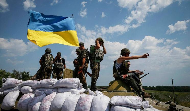 На ультиматум боевиков сдаться до 19:00, бойцы АТО под Изварино ответили, – «ляжем но не сдадимся»