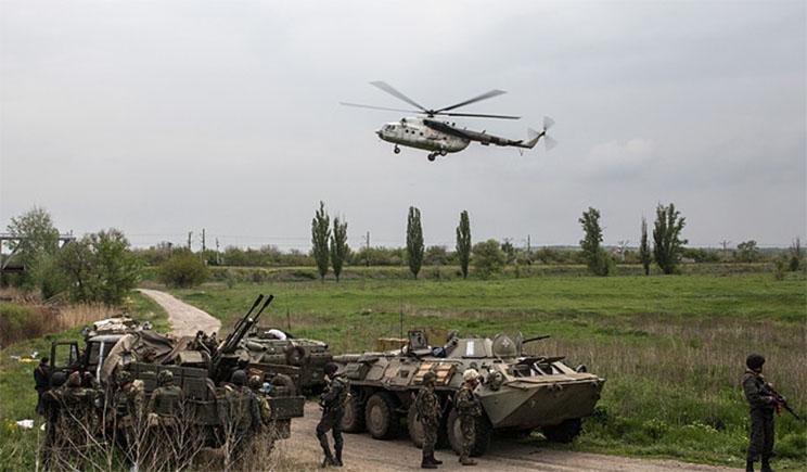 После передислокации сил Украинская Армия начала полномасштабное наступление