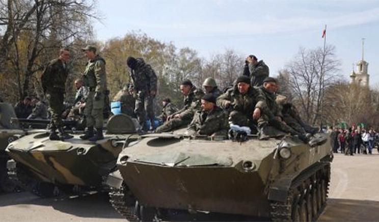 Десантники захватили бронированный «КамАЗ» сепаратистов с целым арсеналом оружия
