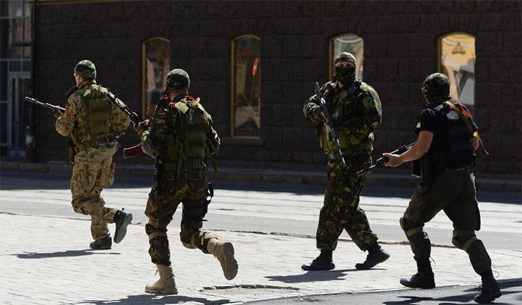 Террористы бесчинствуют в Стаханове