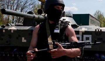 Под Снежным террористы попали в засаду украинских силовиков
